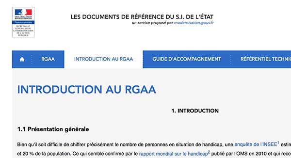 RGAA 3.0